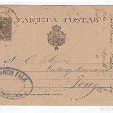 Sellos: ENTERO POSTAL. 1896. BARCELONA. MARTIN FALK. VER DORSO. Lote 75954083