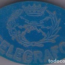Sellos: ANTIGUO EMBLEMA DE TELEGRAFOS 6X3,5 CTM. Lote 77849697
