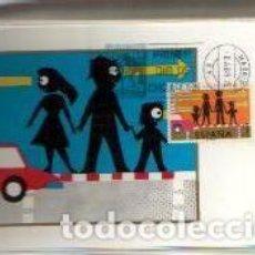 Sellos: MAXIMAS- SEGURIDAD VIAL 1976 COMPLETA 3 VALORES PRIMER DIA MADRID -VER LAS FOTOS. Lote 80697650