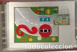 Sellos: MAXIMAS- SEGURIDAD VIAL 1976 COMPLETA 3 VALORES PRIMER DIA MADRID -VER LAS FOTOS - Foto 2 - 80697650