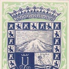 Sellos: GUINEA ESPAÑOLA ESCUDO DE SANTA ISABEL DIA DEL SELLO 1956 (EDIFIL 362) EN RARA TARJETA MAXIMA. MPM.. Lote 5145441