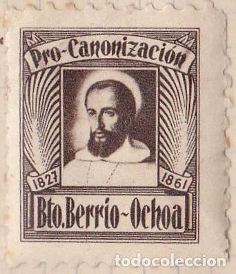 PRO CANONIZACION - BEATO BERRIO-OCHOA (Sellos - España - Dependencias Postales - Beneficencia)