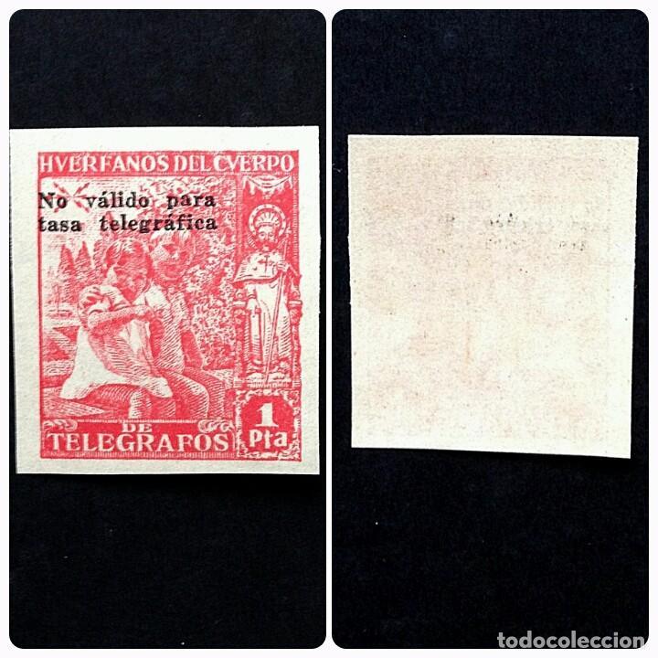 ESPAÑA.AÑO 1938.HUERFANOS DE TELEGRAFOS-BENEFICENCIA. (Sellos - España - Dependencias Postales - Beneficencia)