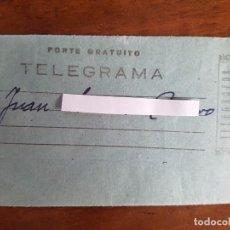 Sellos: TELEGRAMA AÑOS 30-40. Lote 93752605