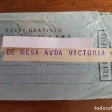 Sellos: TELEGRAMA AÑO 1963. Lote 93753080