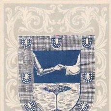 Sellos: IFNI EDIFIL Nº 134, ESCUDO DE IFNI, TARJETA MAXIMA DE 14-1-1958. RARISIMA. Lote 97717235