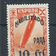 Sellos: R43.G13/ ESPAÑA EDIFIL 51, MNH ** BENEFICIENCIA, SOBRECARGADO 1940. Lote 135587747