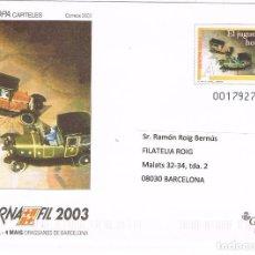 Sellos: 0390. ENTERO POSTAL TARIFA A, BARNAFIL 2003. BARCELONA. Lote 101009727