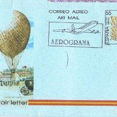 Sellos: 0411. AEROGRAMA F.D.C. BARCELONA 1990. GLOBUS. INGENIERO EMILIO HERRERA. Lote 103135867