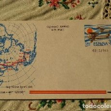 Sellos: AEROGRAMA ESPAÑA 1981.RAID MADRID/MANILLA 1926.. Lote 103324047