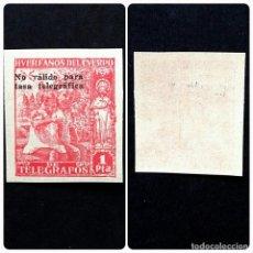 Sellos: ESPAÑA.AÑO 1938.HUERFANOS DE TELEGRAFOS-BENEFICENCIA.. Lote 104321239