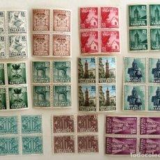 Sellos: SELLOS PLAN SUR DE VALENCIA 1963-1985.NUEVOS. EDIFIL 3-11. BLOQUE DE CUATRO. COMPLETA.. Lote 107006335