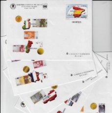 Sellos: 5 SOBRES ENTERO POSTALES -FERIA NACIONAL DEL SELLO MADRID 1999 -NUMS 54 - LOS CINCO MODELOS . Lote 107428783