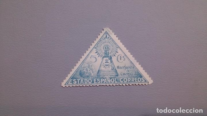 1938 - BENEFICENCIA - EDIFIL 20 - MNH** - NUEVO - VIRGEN DEL PILAR (Sellos - España - Dependencias Postales - Beneficencia)