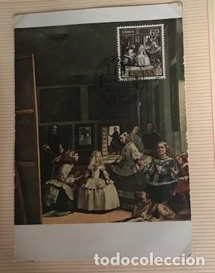 Sellos: diego velázquez. tarjetas máximas matasellos madrid primer día. Serie de 10 tarjetas - Foto 6 - 118076235