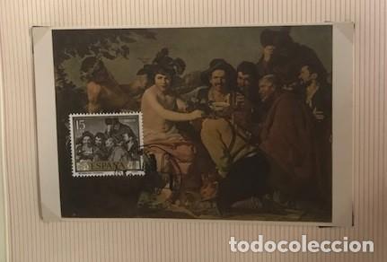 Sellos: diego velázquez. tarjetas máximas matasellos madrid primer día. Serie de 10 tarjetas - Foto 7 - 118076235