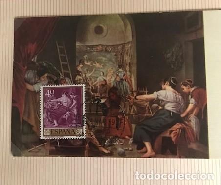 Sellos: diego velázquez. tarjetas máximas matasellos madrid primer día. Serie de 10 tarjetas - Foto 9 - 118076235