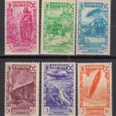 Sellos: ESPAÑA, BENEFICENCIA 1938 EDIFIL Nº 21 / 26 / * / . Lote 118467659