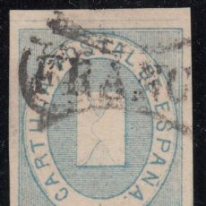 Sellos: ESPAÑA, FRANQUICIAS POSTALES, 1869 EDIFIL Nº 1 A . Lote 118624971
