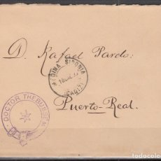Sellos: ESPAÑA, FRANQUICIAS POSTALES, 1890 EDIFIL Nº 6 , DOCTOR THEBUSSEM.. Lote 118626631