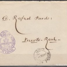 Sellos: ESPAÑA, FRANQUICIAS POSTALES, 1892 EDIFIL Nº 5 , DOCTOR THEBUSSEM. CARTERO HONORARIO . Lote 118626891