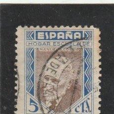 Sellos: ESPAÑA 1937 - EDIFIL NRO. 12 BENEFICENCIA - USADO. Lote 120000411