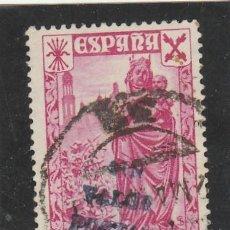 Timbres: ESPAÑA 1938 - EDIFIL NRO. 21 BENEFICENCIA -SIN VALOR POSTAL - USADO. Lote 120000947