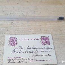 Sellos: PEQUEÑO ENTERO POSTAL DE LOS REYES CATOLICOS Y ESCUDO, DE 7 X 4,5 CM.. Lote 122078919