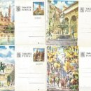 Sellos: 4 TARJETAS POSTALES MADRID, CORDOBA, BARCELONA, ZARAGOZA. Lote 122617723