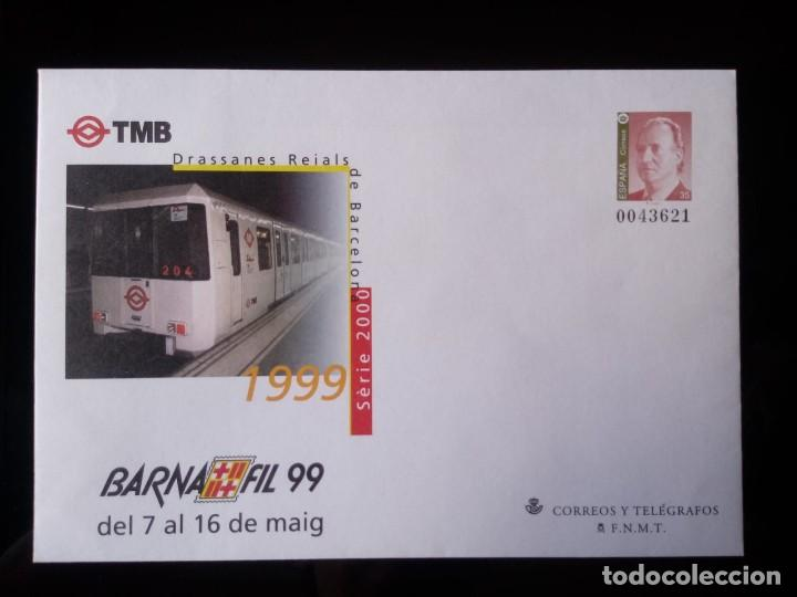 SOBRE ENTERO POSTAL EDIFIL 53 * AÑO 1999 (Sellos - España - Dependencias Postales - Entero Postales)