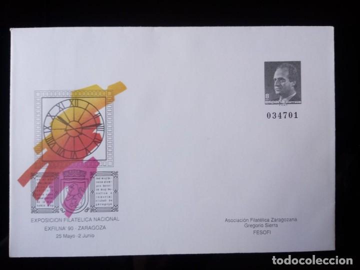 SOBRE ENTERO POSTAL EDIFIL 15 * AÑO 1990 (Sellos - España - Dependencias Postales - Entero Postales)