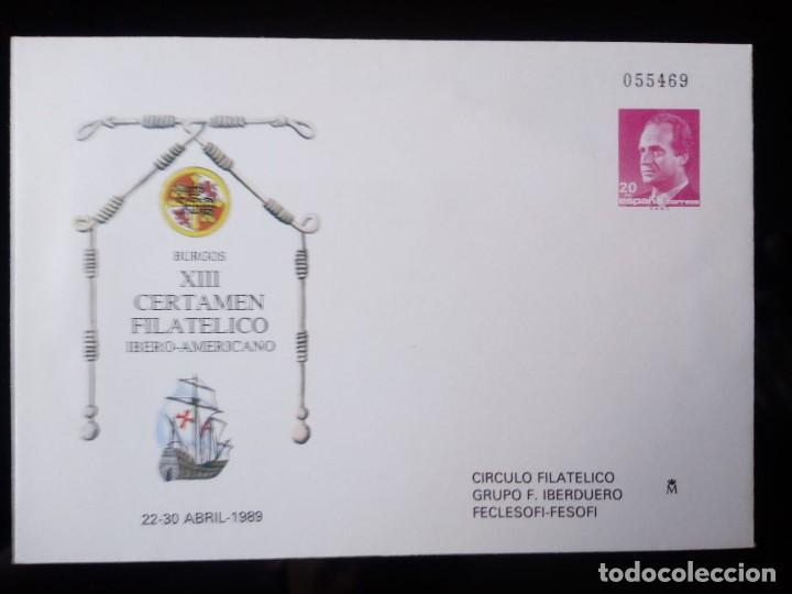 SOBRE ENTERO POSTAL EDIFIL 12 * AÑO 1989 (Sellos - España - Dependencias Postales - Entero Postales)
