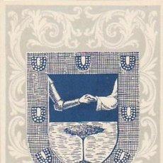 Sellos: IFNI EDIFIL Nº 134, ESCUDO DE IFNI, TARJETA MAXIMA DE 14-1-1958. RARISIMA. Lote 126984451