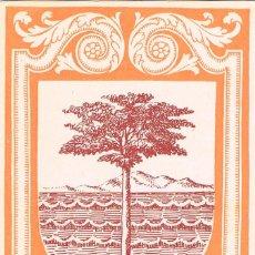 Sellos: GUINEA ESPAÑOLA EDIFIL 363, ESCUDO DE SANTA ISABEL, TARJETA MÁXIMA SANTA ISABEL 28-11-1957 RARISIMA. Lote 126985635