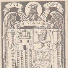 Sellos: IFNI EDIFIL 132, ESCUDO DE ESPAÑA (FRANQUISTA), TARJETA MÁXIMA SANTA ISABEL 28-11-1957 RARISIMA. Lote 126985979
