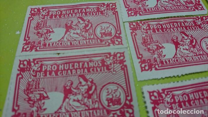 Sellos: LOTE SELLOS PRO HUERFANOS DE LA GUARDIA CIVIL - Foto 2 - 128038067