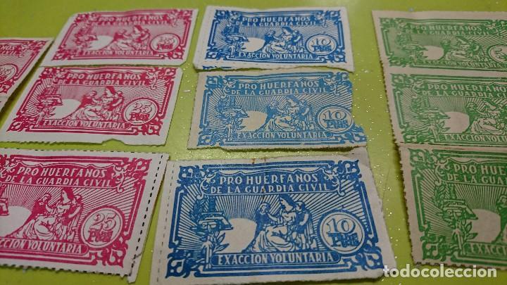Sellos: LOTE SELLOS PRO HUERFANOS DE LA GUARDIA CIVIL - Foto 3 - 128038067