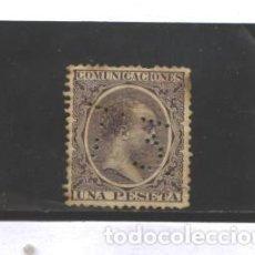 Sellos: ESPAÑA 1889-1899 - EDIFIL NRO. 226 T3- ALFONSO XIII - USADO - PUNTOS OXIDO. Lote 128539795