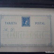 Sellos: TARJETA ENTERO POSTALES. EDIFIL 8 **. ESPAÑA 1875. Lote 133250290