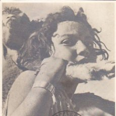 Sellos: SAHARA PASTOR PRO INDIGENAS 1950 (EDIFIL 83) EN TARJETA MAXIMA PRIMER DIA.. Lote 135114838