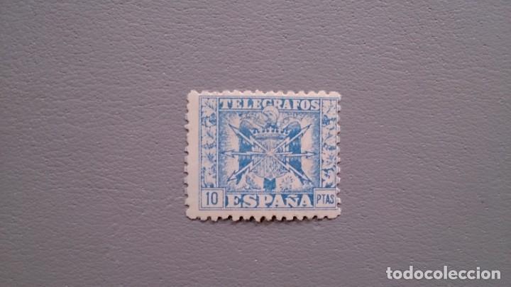 SUB- ESPAÑA - 1940-42 - TELEGRAFOS - EDIFIL 84 - MNH** - NUEVO - SELLO CLAVE - VALOR CATALOGO 50€. (Sellos - España - Dependencias Postales - Telégrafos)