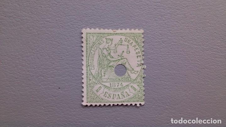 ESPAÑA - 1874 - I REPUBLICA - TELEGRAFOS - EDIFIL 150 T. (Sellos - España - Dependencias Postales - Telégrafos)