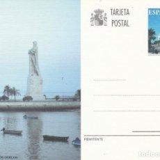 Sellos: TARJETA ENTERO POSTAL - HUELVA MONUMENTO A COLON 1996 - FNMT FILATELIA - SELLO IMPRESO RELACIONADO. Lote 138833178