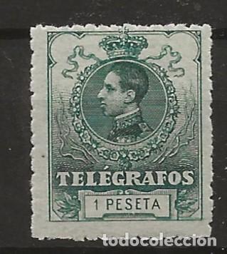 R60.BAUL/ ESPAÑA TELEGRAFOS, NUM. 52 **, CATALOGO 25,00, MUY BONITO (Sellos - España - Dependencias Postales - Telégrafos)