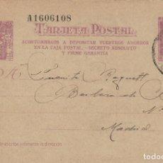 Sellos: ENTERO POSTAL- MATRONA 1938 Nº 79 - ACOSTUMBRAOS A DEPOSITAR VUESTROS AHORROS ... CIRCULADO. Lote 139226406