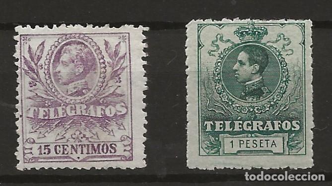 R60/ ESPAÑA TELEGRAFOS, NUM. 41* - 52 **, MUY BONITOS, CATALOGO 33,00€ (Sellos - España - Dependencias Postales - Telégrafos)