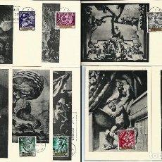 Sellos: ESPAÑA,1966,SERT,COMPLETA,EDIFIL 1710-1719. Lote 141598170