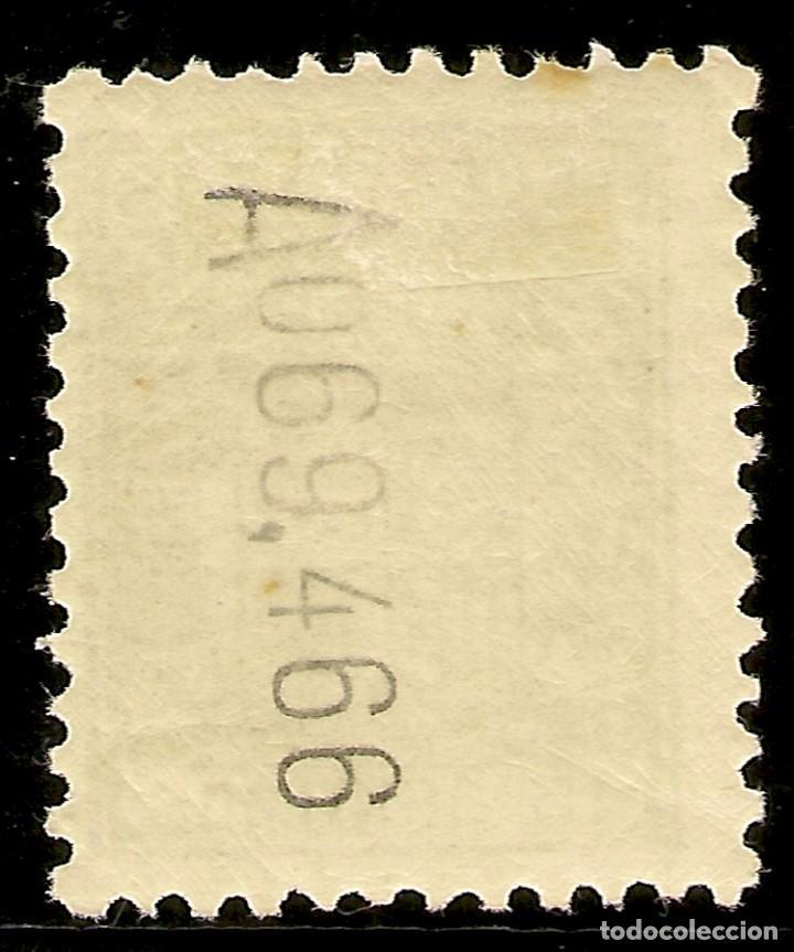 Sellos: España Telégrafos Edifil 70* Mh 15 Céntimos Azul Escudo de España 1932/33 NL913 - Foto 2 - 141884654