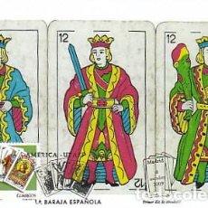Sellos: EDIFIL 4513, LA BARAJA ESPAÑOLA, TARJETA MÁXIMA PRIMER DÍA DE 8-10-2009 . Lote 143170834