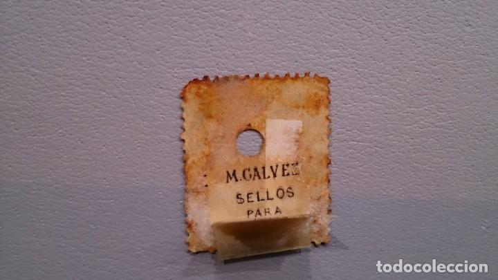 Sellos: ESPAÑA - 1869 - ISABEL II - TELEGRAFOS - EDIFIL 27 - CENTRADO. - Foto 2 - 144110946